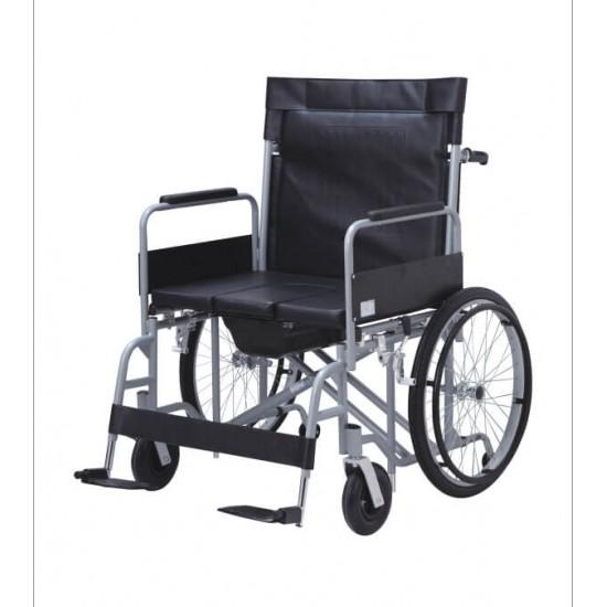 Obesity Commode Wheelchair