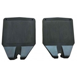 PVC Wheelchair Footrest Set