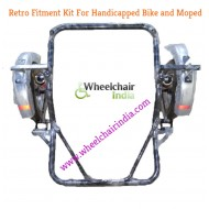 Side Wheel Attachment Kit For TVS Star City Plus