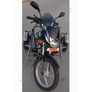 Handicapped Bike Side Wheel Attachment Kit For Bajaj Platina