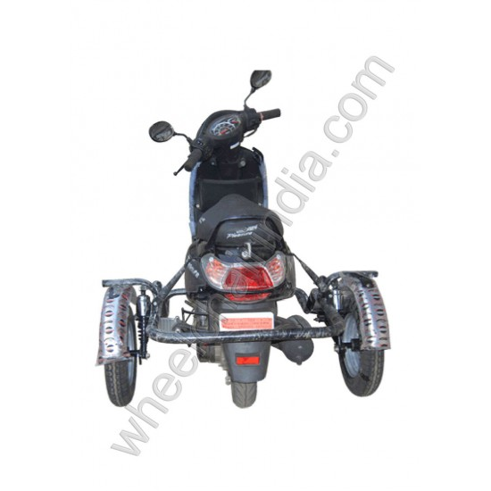 Handicapped Moped Side Wheel Attachment Kit For Hero Pleasure