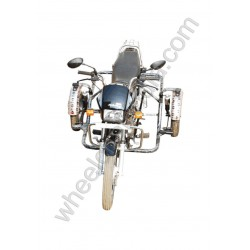 Side Wheel Attachment Kit For Hero Splendor