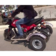 Handicapped Bike Side Wheel Attachment Kit For Honda Navi