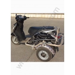 Side Wheel Attachment Kit For Yamaha Fascino