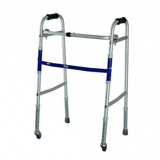 Vissco Foldable Dura Lite Walker with Wheels