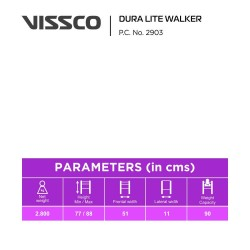 Vissco Foldable Dura Lite Walker