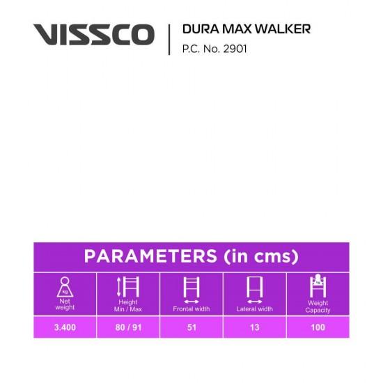 Vissco Lightweight Foldable Dura Max Walker