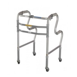Vissco Dura Step Walker with Wheels
