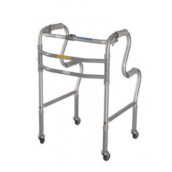 Vissco Dura Step Walker with Wheels