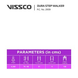 Vissco Foldable Dura Step Walker