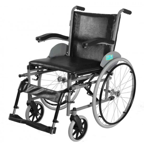 Vissco Imperio Manual Wheelchair with Fixed Big Wheels