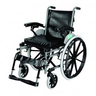 Vissco Imperio Manual Foldable Wheelchair with Removable Big Wheels