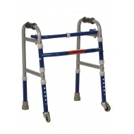 Vissco Invalid Foldable Walker Castors