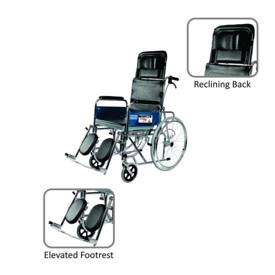 Vissco Rodeo Ext Reclining Manual Spoke Wheel Wheelchair