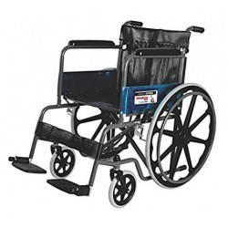 Vissco Rodeo Max Manual Foldable Wheelchair With Mag Wheel