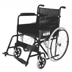 Vissco Rodeo Plus Manual Foldable Wheelchair With Spoke Wheel
