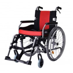 Vissco Superior Aluminium Wheelchair with Removable Big Wheels