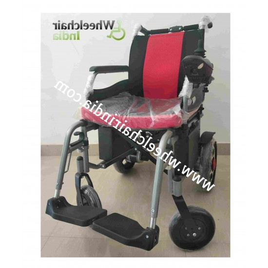 Vissco Electric Power Wheelchair Zip Lite with Double Battery